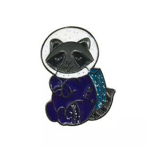 Space Raccoon Enamel Pin